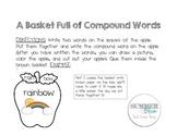 Apple Basket Compound Word Activity