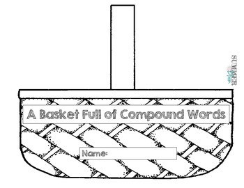 Apple Basket Compound Word Activity