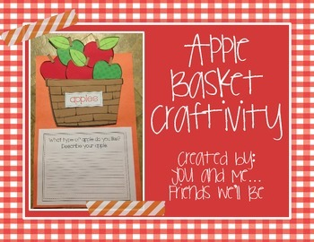 Apple Basket Craftivity