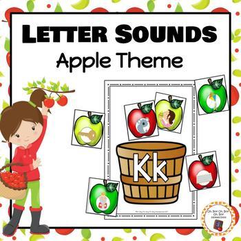 Apple Basket Letter Sound Sorting - S