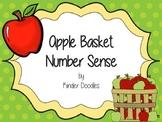 Apple Basket Number Sense Activities