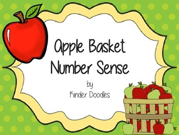 Apple Basket Number Sense Activities