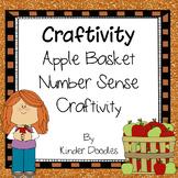 Apple Basket Number Sense Craftivity