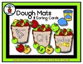 Apple Basket  -  Play Dough Manipulative Mats - Alphabet Numbers Colors Shapes