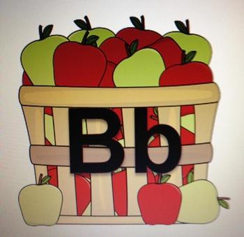 Apple Basket Word Line