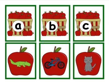 Apple Beginning Sound Sort