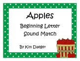 Apple Beginning Sound Sort