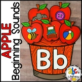 Apple Beginning Sounds Sort Activity