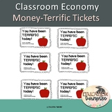 Positive Student Reward Tickets-Apple Themed