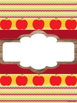 Binder Covers (Apple Theme)