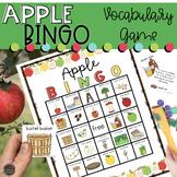 Apple Vocabulary Bingo