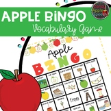 Apple BINGO Vocabulary Game
