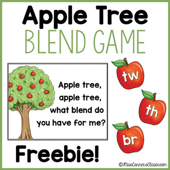 Apple Blends Game (Freebie!)