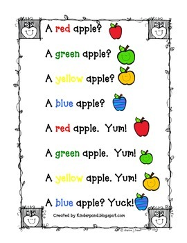 Apple... Blue Apples? Yuck