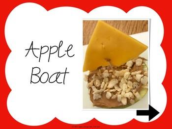 Apple Boat: Interactive Recipe