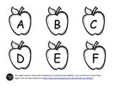 Apple Book Bin Labels