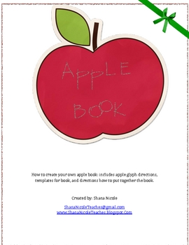 Apple Book and Glyph