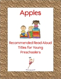 Apple Books: Recommended Read Alouds for Young Preschoolers