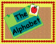 Apple Border Alphabet Poster