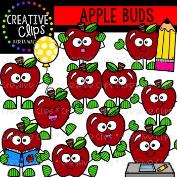 Apple Buds: Apple Clipart {Creative Clips Clipart}