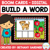 Apple Build-a-Word - Boom Cards - Distance Learning