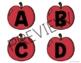 EDITABLE Bulletin Board Letters | Apple Theme - FREE