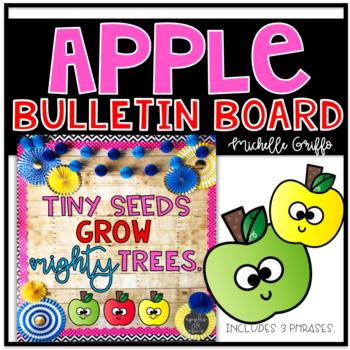 Apple Bulletin Board Template