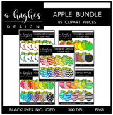Apple Clipart Bundle {A Hughes Design}