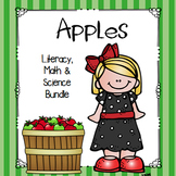 Apple Bundle: Literacy, Math and Science
