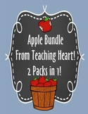 Apple Bundle - Worksheets, Crafts, Glyphs, and More Apple Fun!