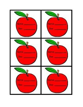 Apple Bus Tags