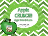 Apple CRUNCH!! Sight Word Game