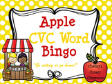 Apple CVC Word Bingo