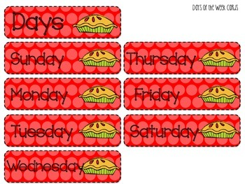 Apple Calendar Activities