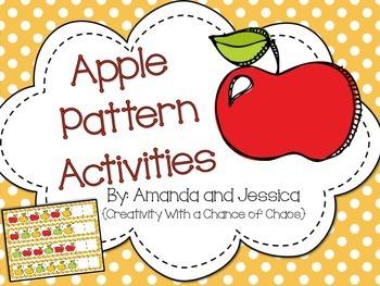 Apple Pattern Activities