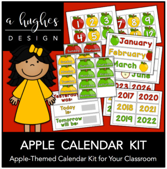 Apple Calendar Kit {A Hughes Design}