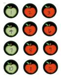 Apple Calendar Numbers 1-31