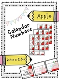 Apple Calendar Numbers