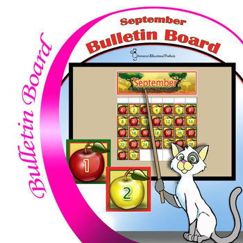 Apple Calendar Numbers for the Month of September