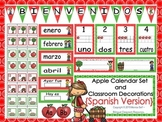 Apple Calendar Set and Classroom Decorations {Spanish Version}