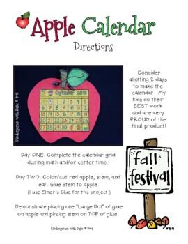 September Calendar Craft and MORE