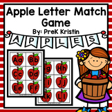 Apple Capital and Lowercase Letter Matching Game