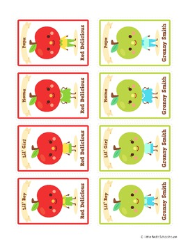 Apple Card Game - Happy Apple Families