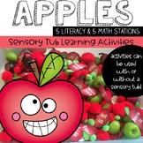 Apple Centers:  5 Literacy & 5 Math Activities for the Sen