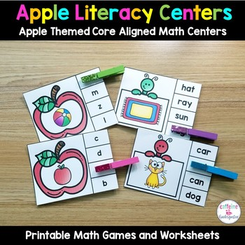Apple Centers AND MORE - September Literacy