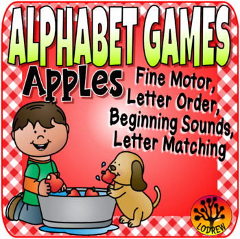 Apple Centers Alphabet Games Literacy Centers Autumn Activities