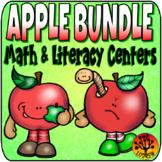 Apple Bundle Autumn Activities Fall Centers Apple Centers Back To School