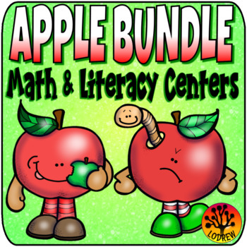 Apple Bundle Autumn Activities Fall Centers Apple Centers Back To School