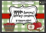 Apple Centers: Literacy Acitivites