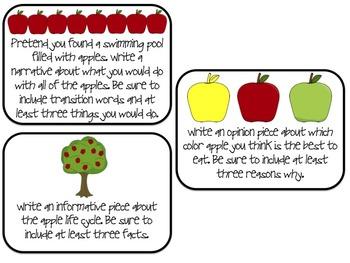 Apple Centers {Math and ELA}